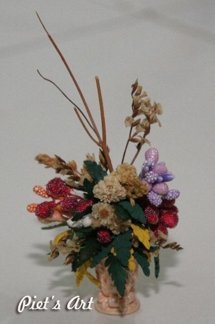 Miniatur Vas Bunga